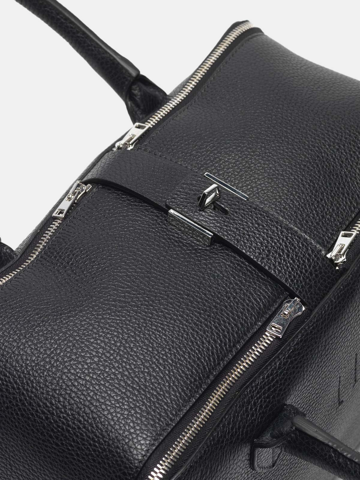 Golden Goose - Equipage bag in pebbled leather in