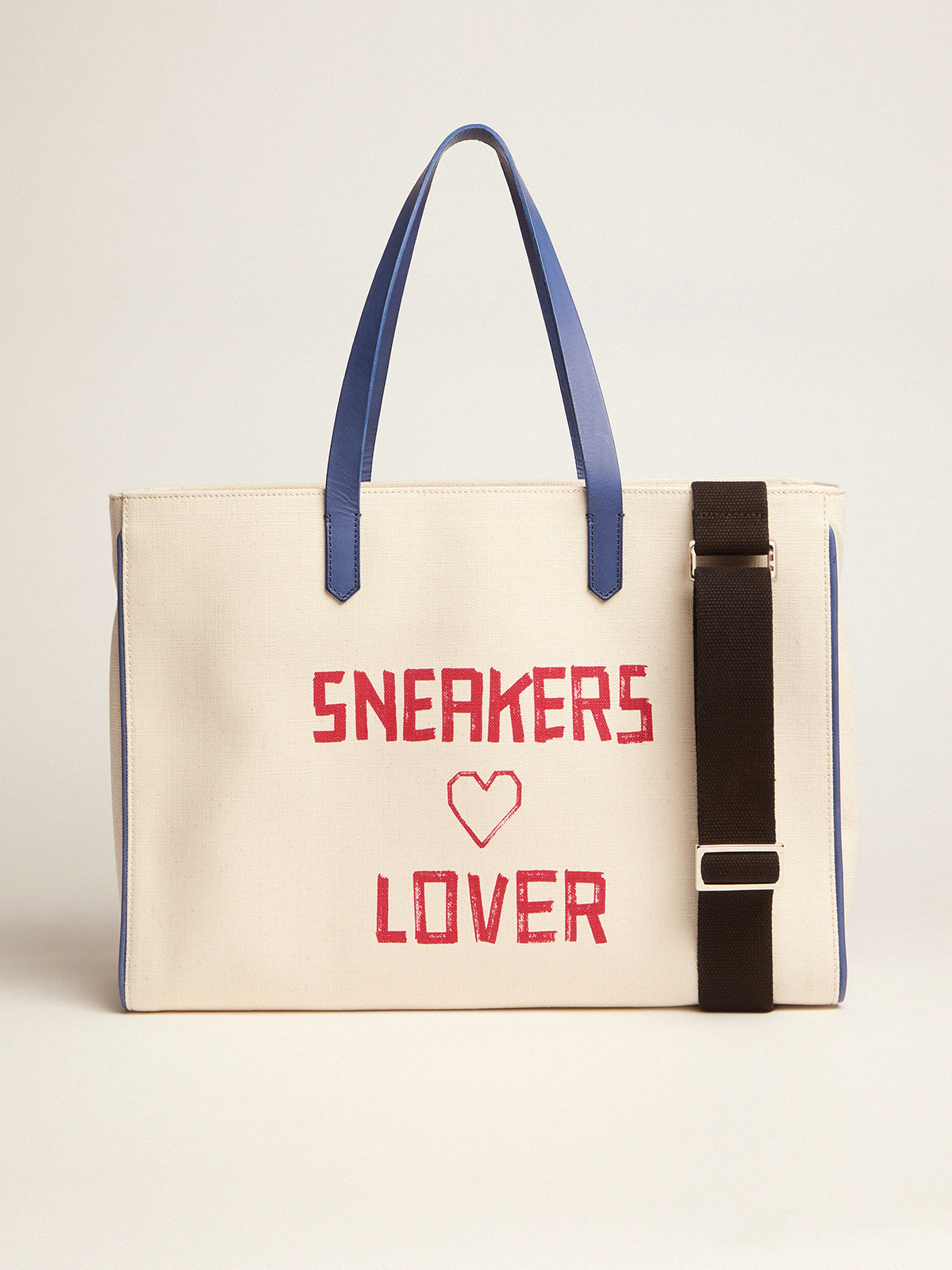 Golden Goose - California East-West bag with red Sneakers Lover print in