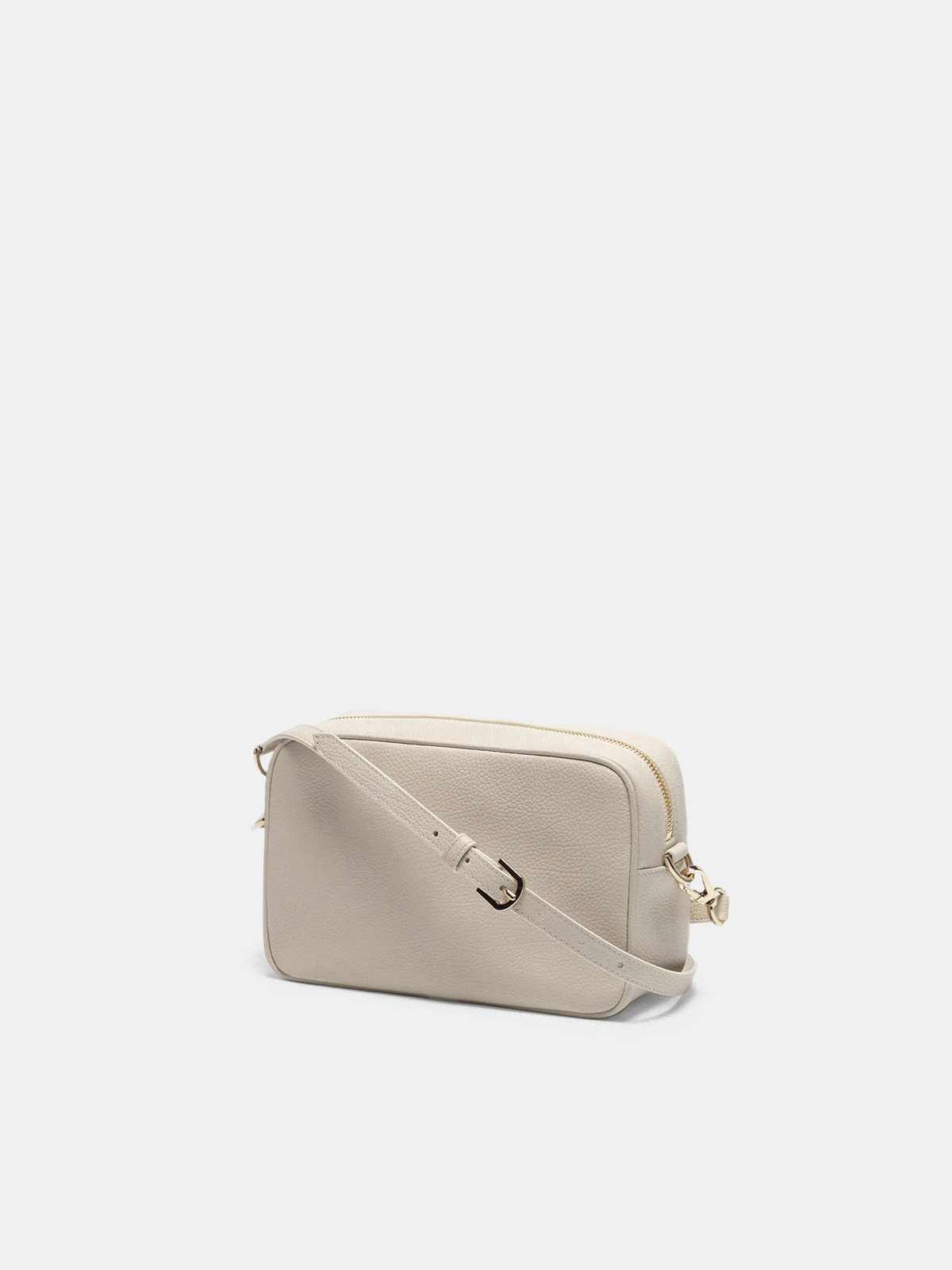 Golden Goose - Star Bag with shoulder strap made of pebbled leather in
