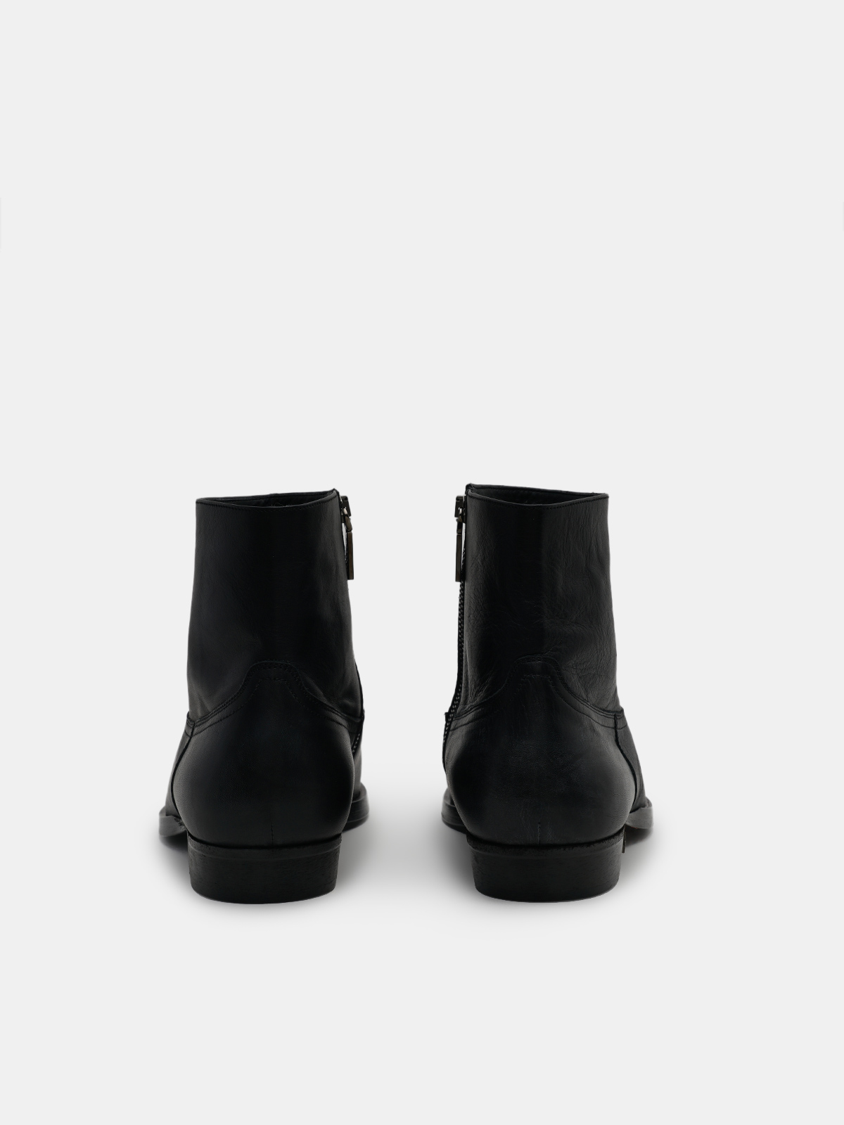 Golden Goose - Rock Jimi ankle boots in black leather in
