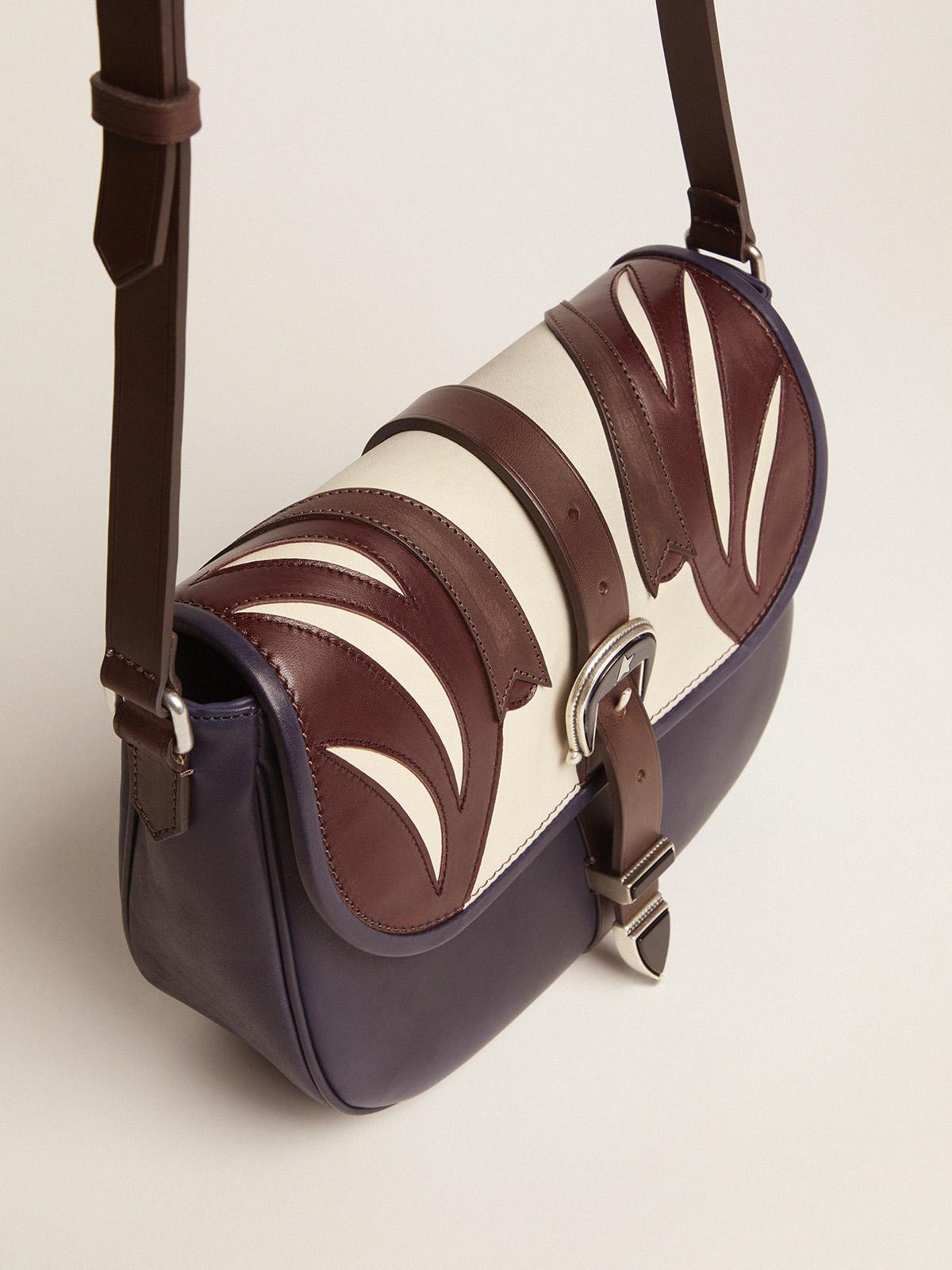 Golden Goose - Medium multicoloured leather Rodeo Bag in