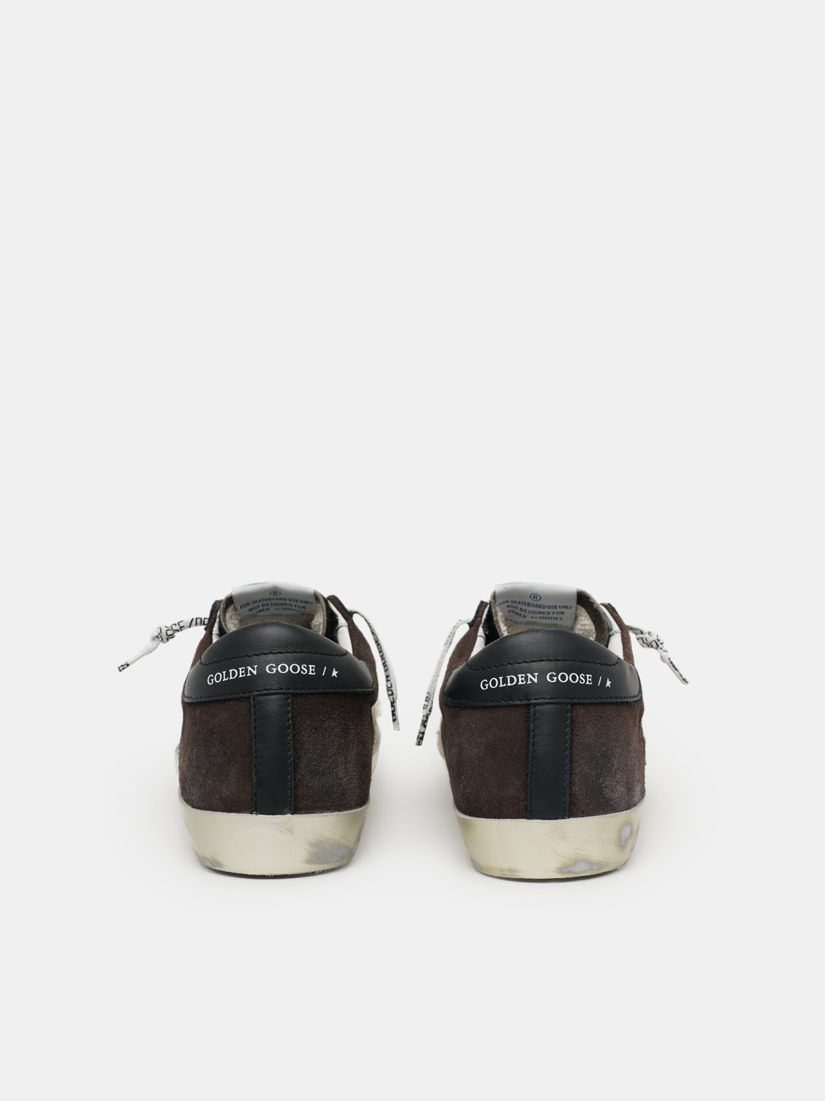 Golden Goose - Super-Star sneakers with leopard-print jacquard and suede inserts and pony skin tongue in