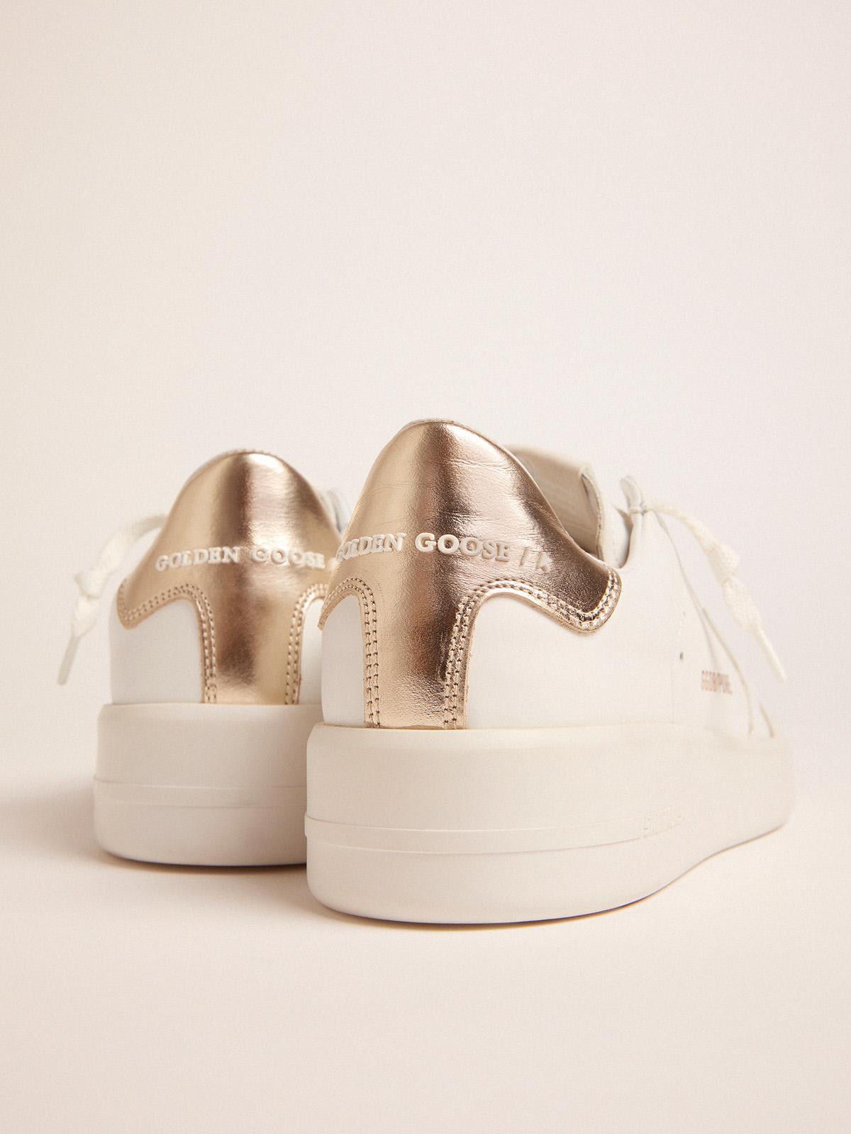 Golden Goose - Women's PURESTAR sneakers with gold-coloured heel tab in