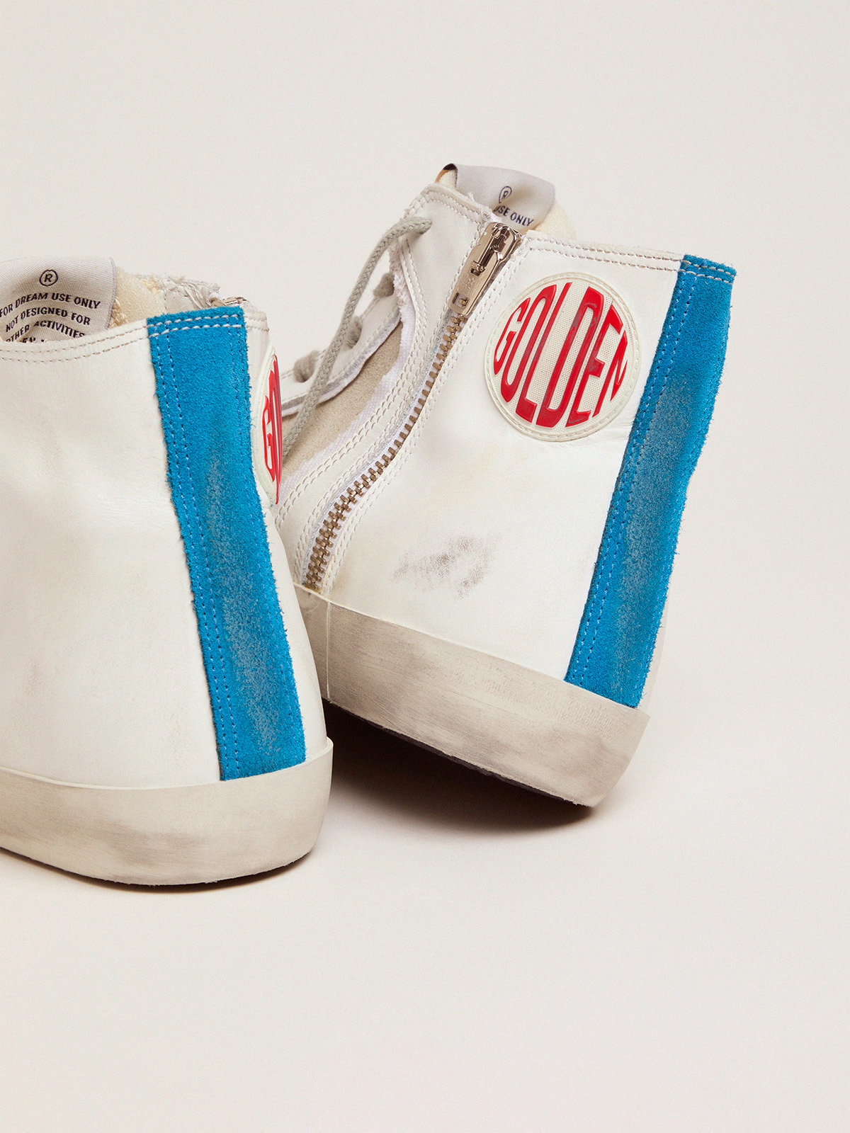 Golden Goose - Women's Limited Edition blue and white Francy sneakers in