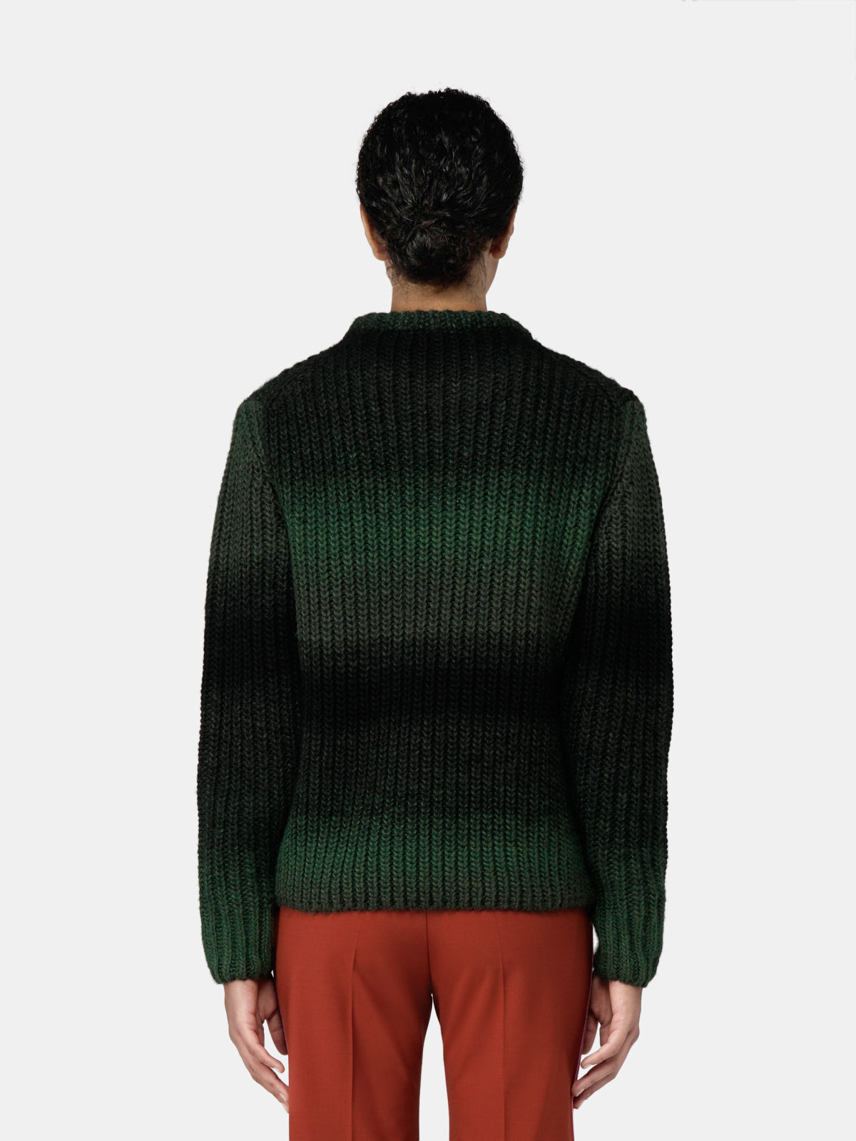 Golden Goose - Adeline pullover in wool with shaded effect in