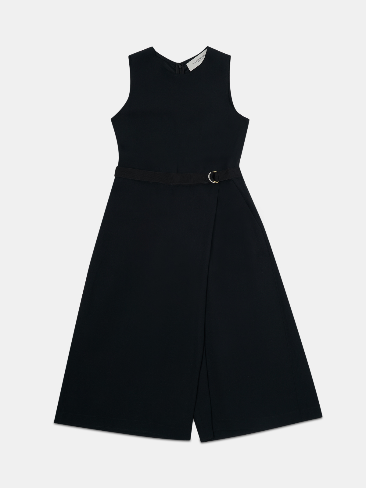 Golden Goose - Afrodite midi dress with panel at the front in