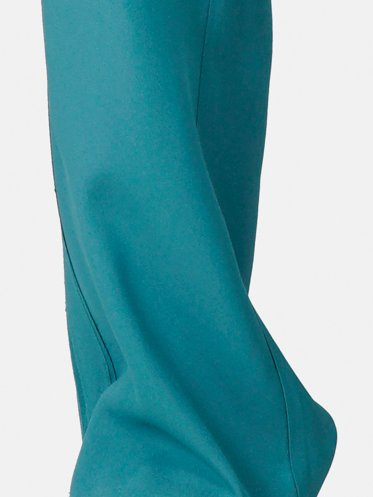 Golden Goose - Petrol green Amarilli trousers with a relaxed fit in