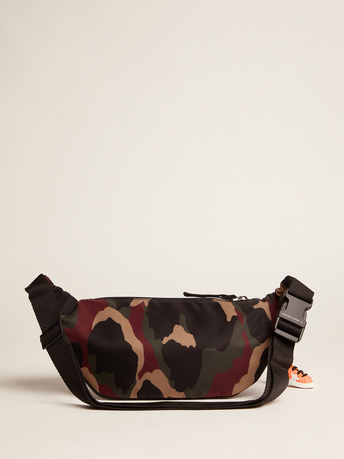 Golden Goose - Marsupio Journey in nylon camouflage in