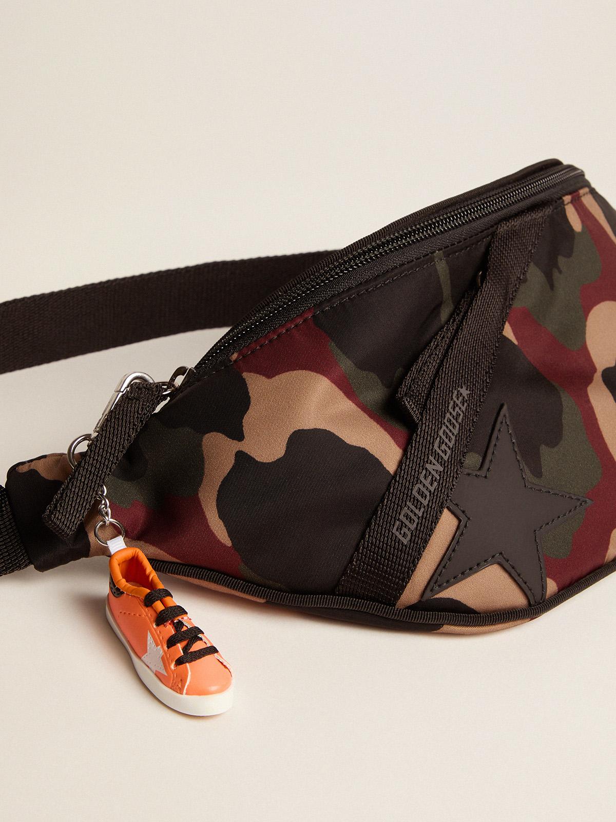 Golden Goose - Camouflage nylon Journey belt bag in