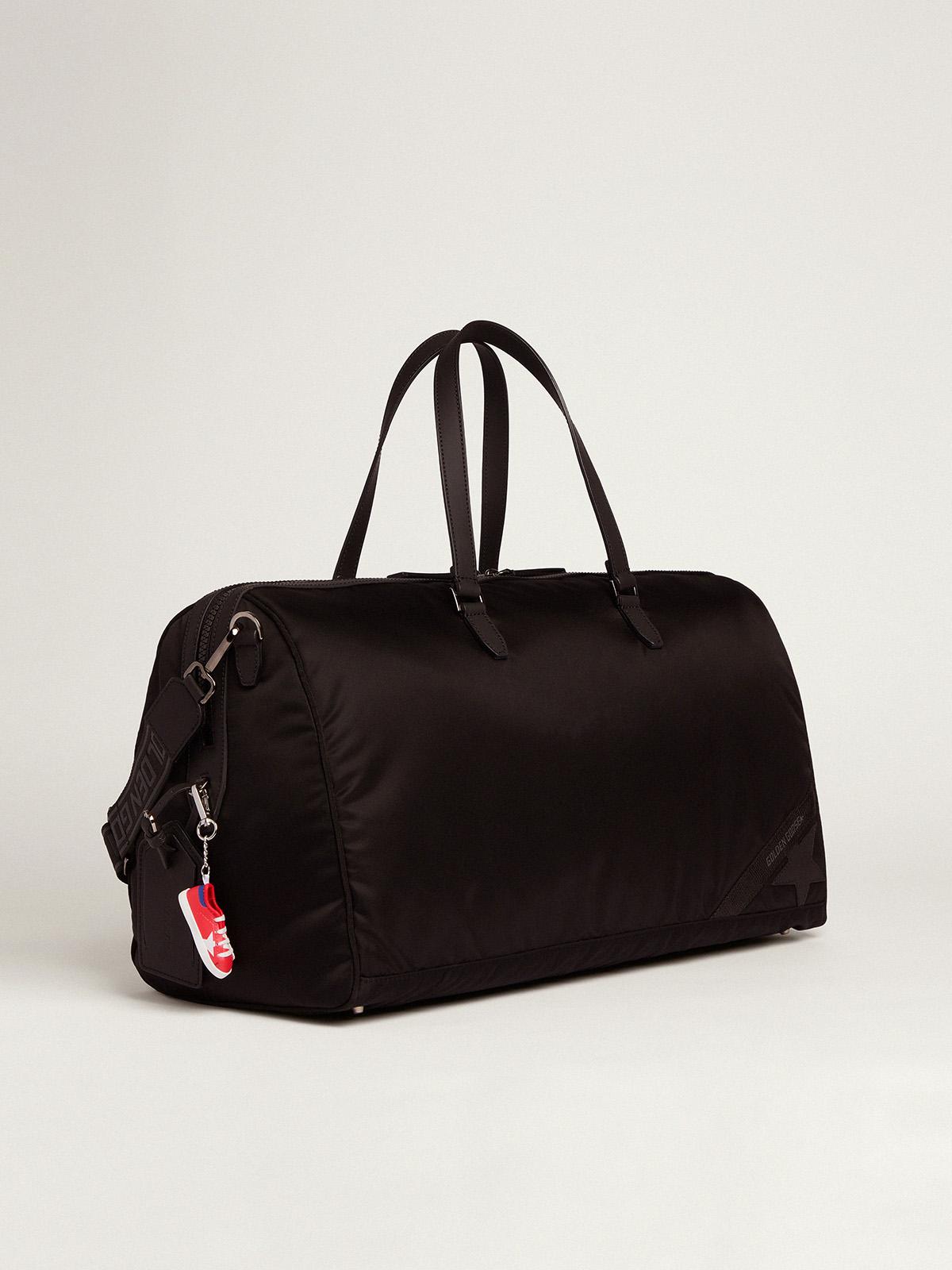Golden Goose - Journey Duffle Bag in black nylon in