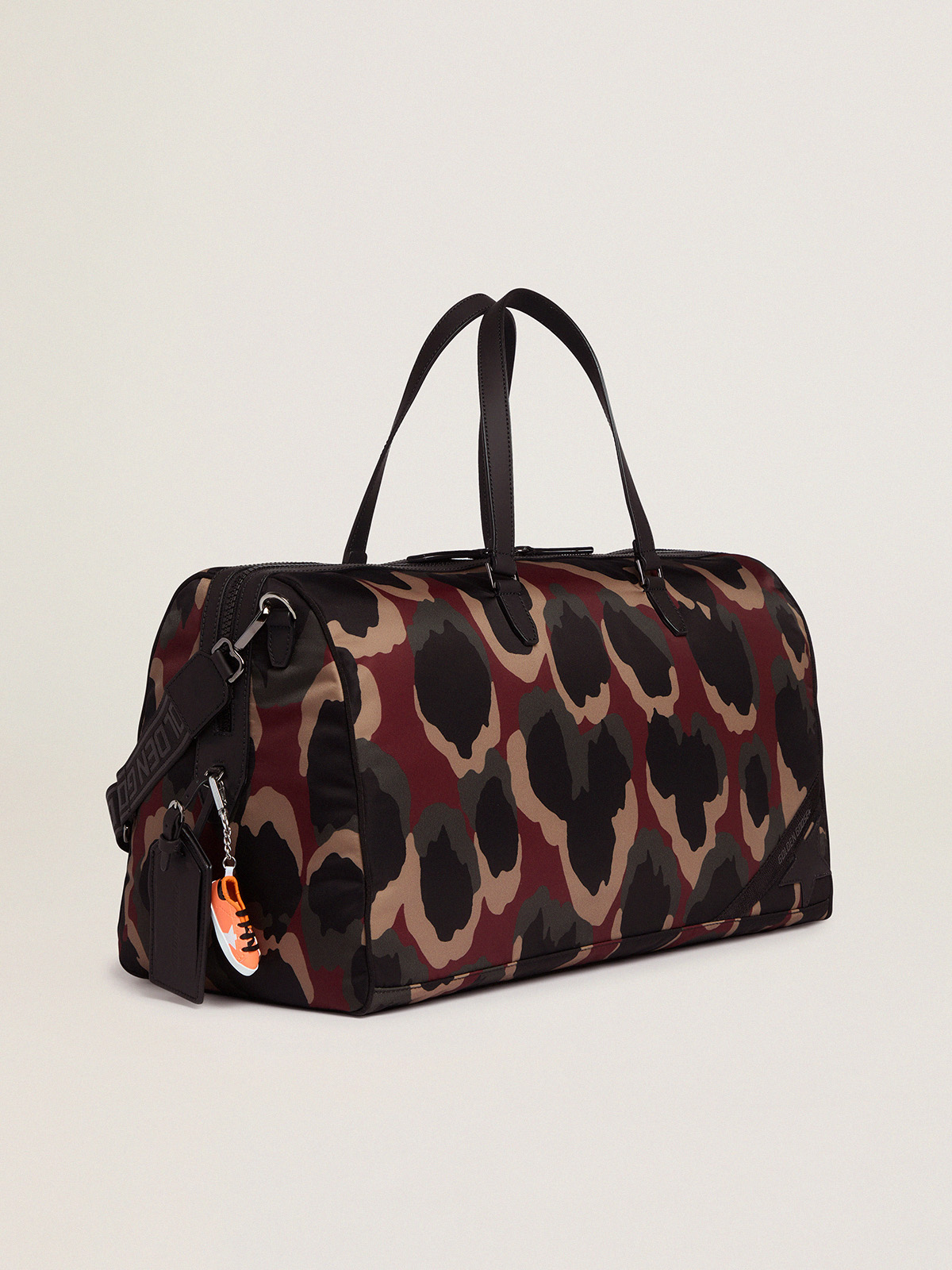 Golden Goose - Journey Duffle Bag in camouflage nylon in