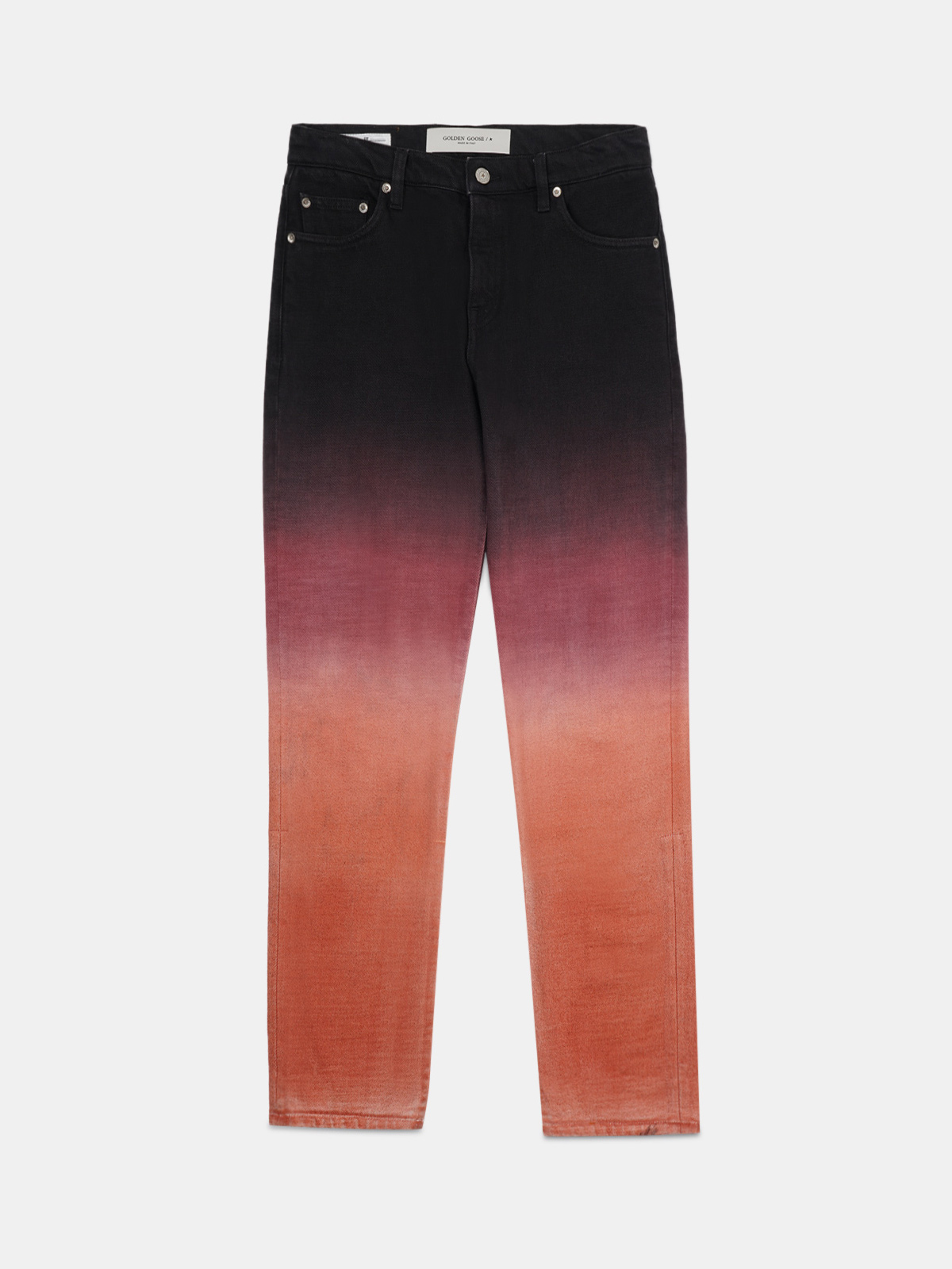 Golden Goose - Amy jeans in denim dyed for a shaded effect in