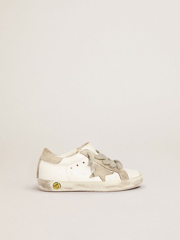 Golden Goose - Super-Star sneakers with suede details in