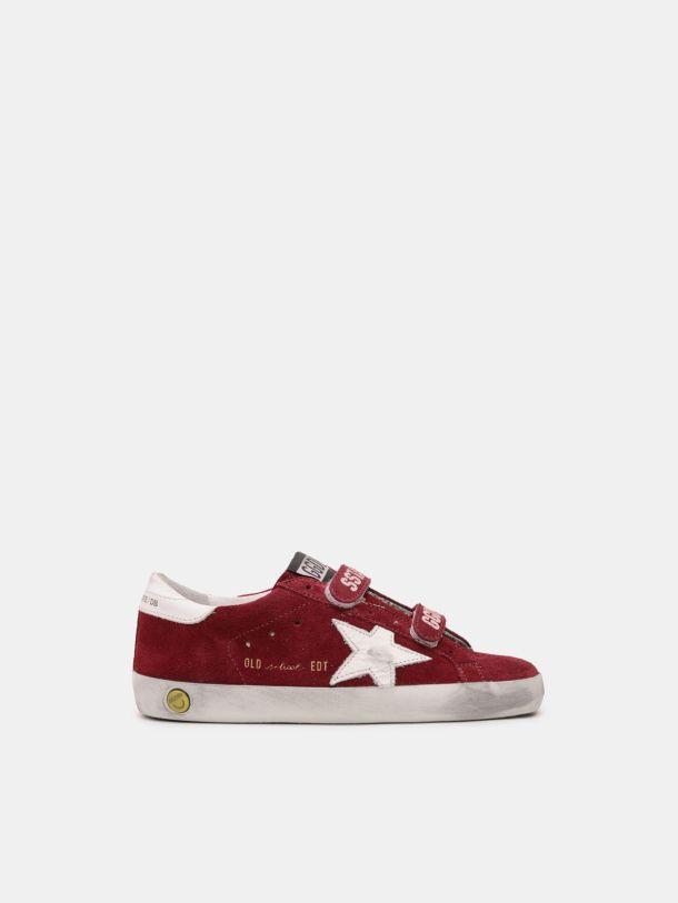 Zapatillas deportivas Old School de ante con estrella blanca