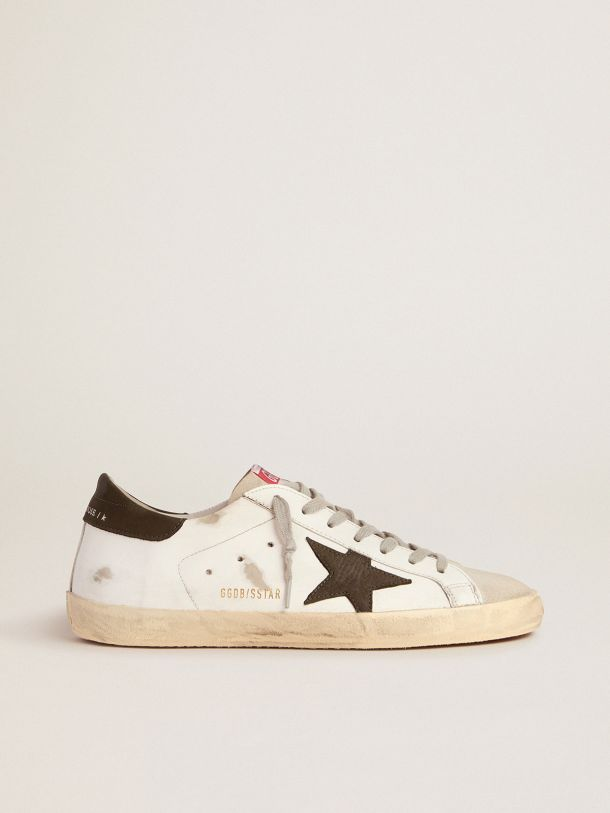 Super-Star sneakers with nubuck star and heel tab