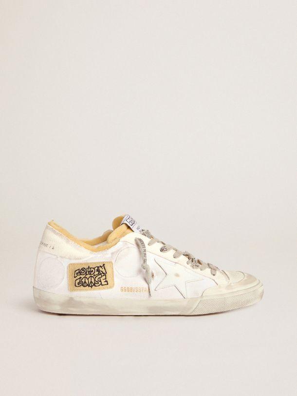Zapatillas deportivas Super-Star colección Dream Maker de hombre de lona con parche lateral