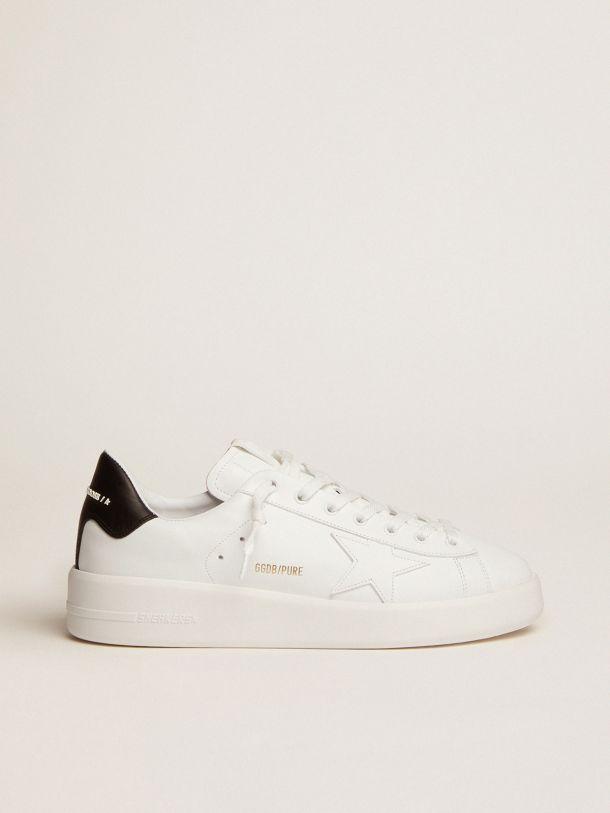 Golden Goose - Sneakers PURESTAR talloncino nero in