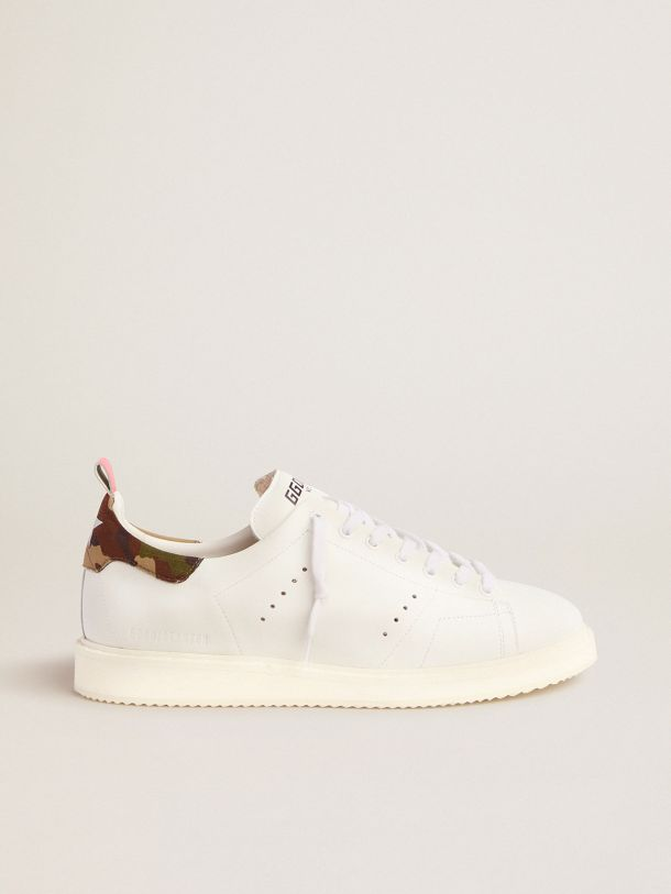 Golden Goose - Sneakers Starter uomo con talloncino camouflage in