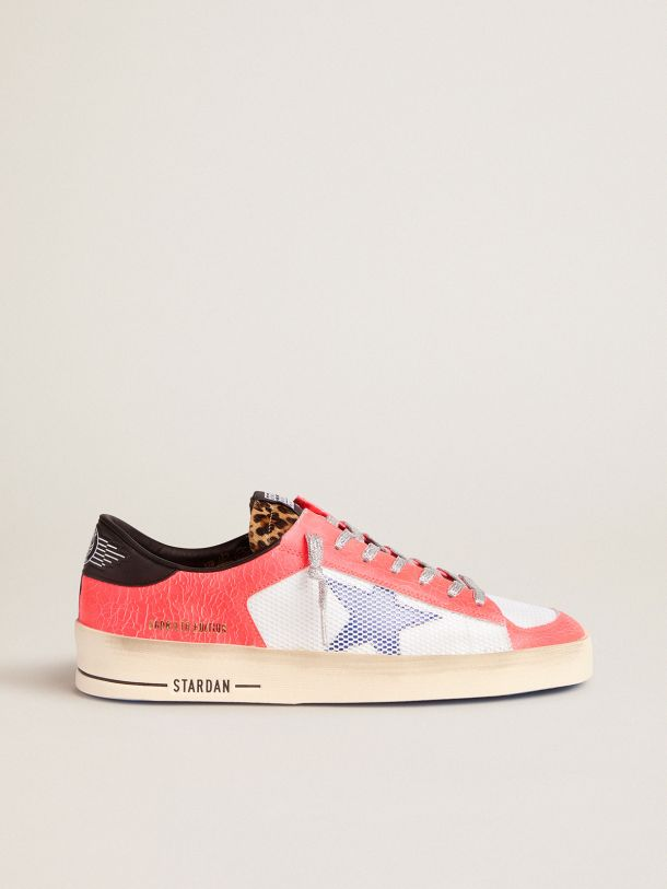 Golden Goose - Men's LAB Limited Edition Stardan sneakers in craquelé leather and pony skin in