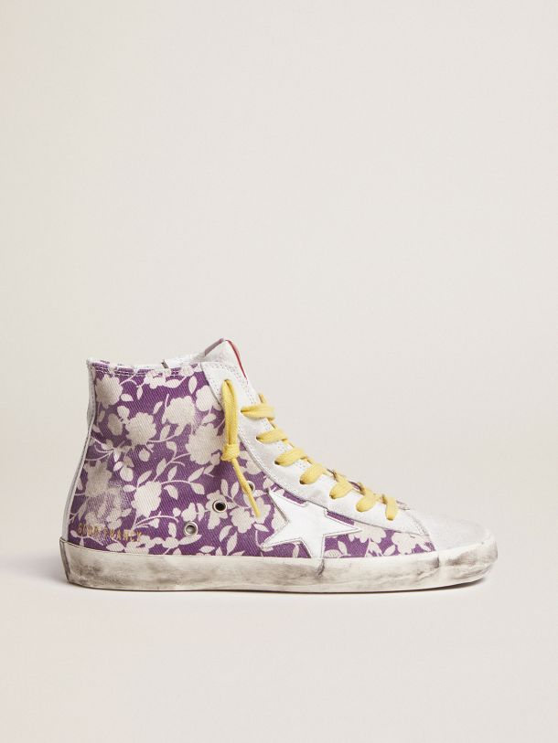 Francy LTD sneakers in canvas with floral pattern