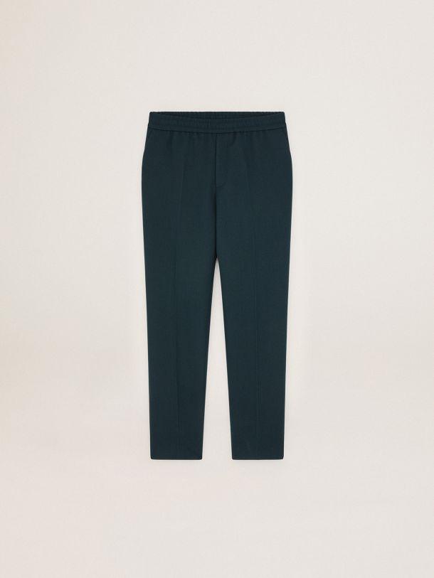 Pantalone Luke Collezione Journey di colore verde petrolio scuro