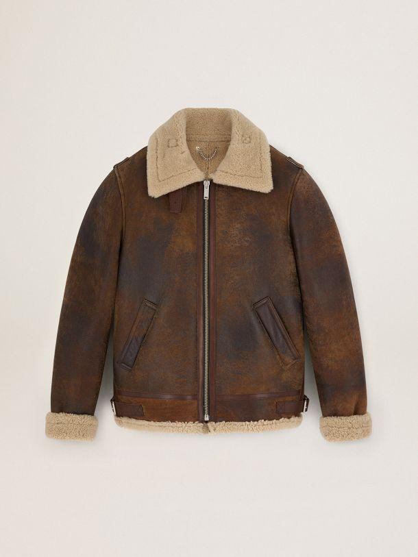 Golden Goose - Journey Collection Arvel shearling jacket in