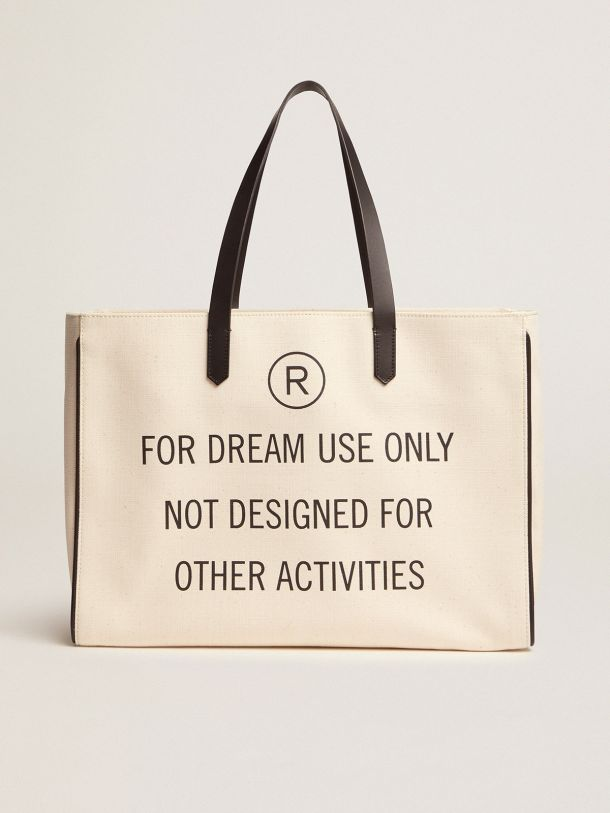 """Golden Goose - """"For dream use only"""" East-West California Bag in"""