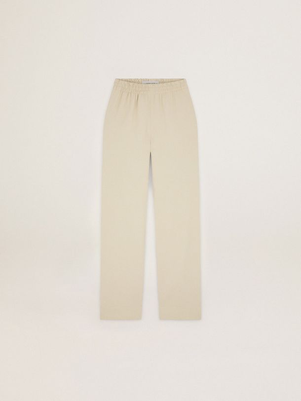Golden Goose - Cream-colored Journey Collection Brittany pants in