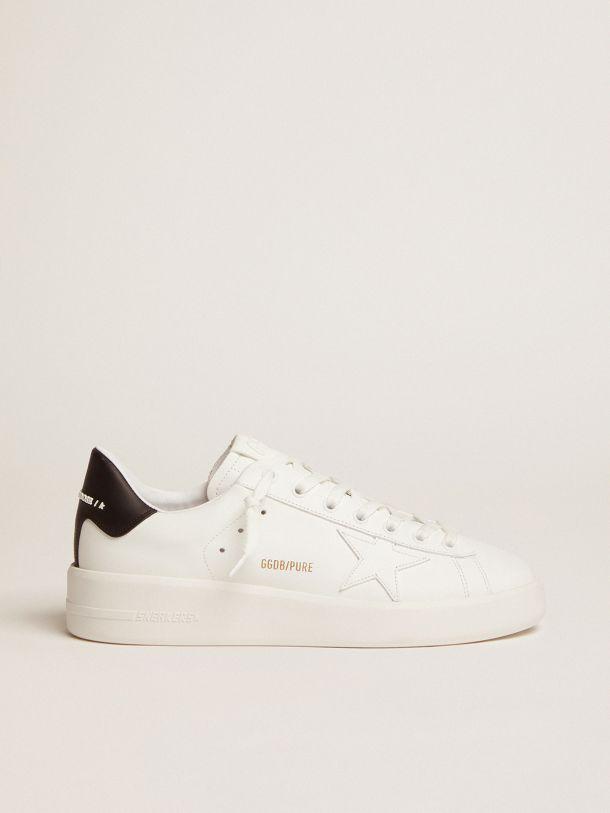 Golden Goose - PURESTAR sneakers with black heel tab in