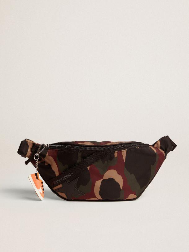 Camouflage nylon Journey belt bag