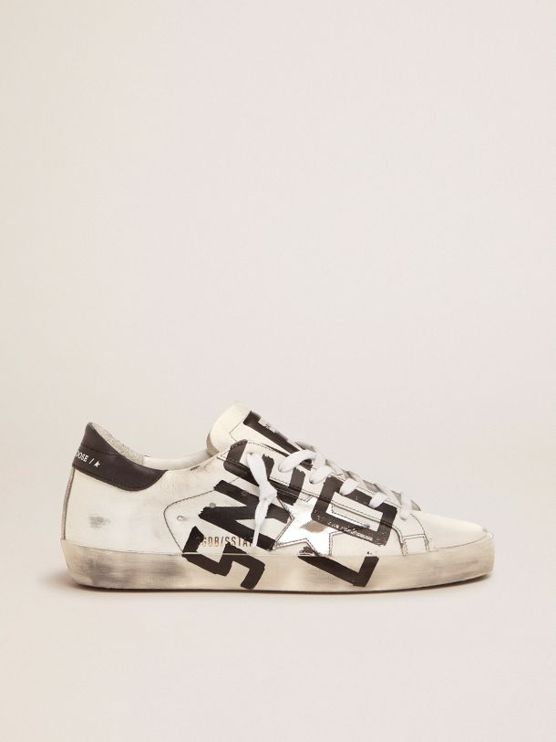 Golden Goose - Super-Star sneakers with Sneakers Lover print in