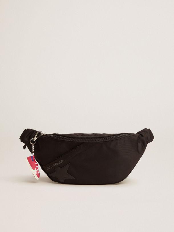 Golden Goose - Black nylon Journey belt bag in