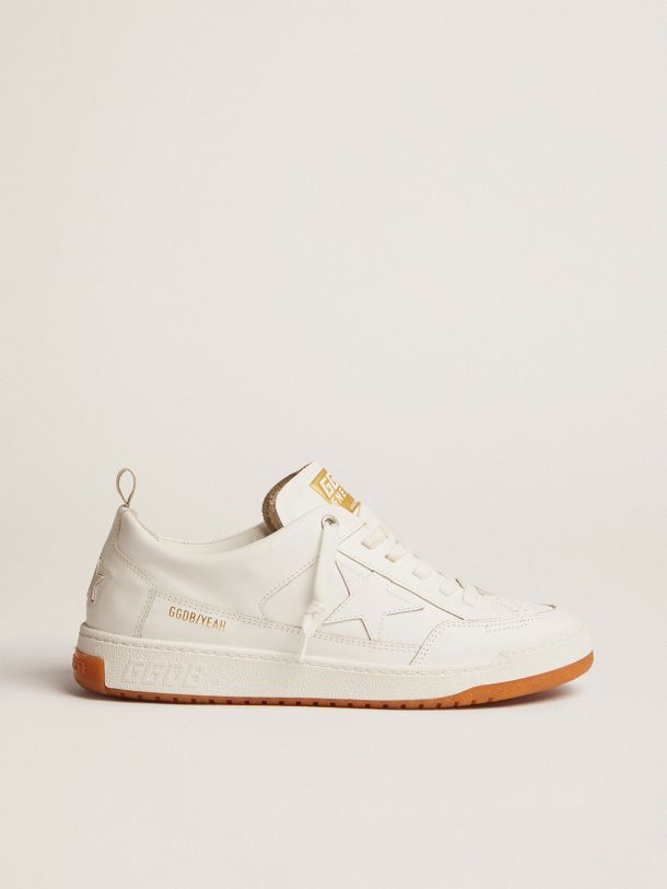 Yeah sneakers in optical white leather