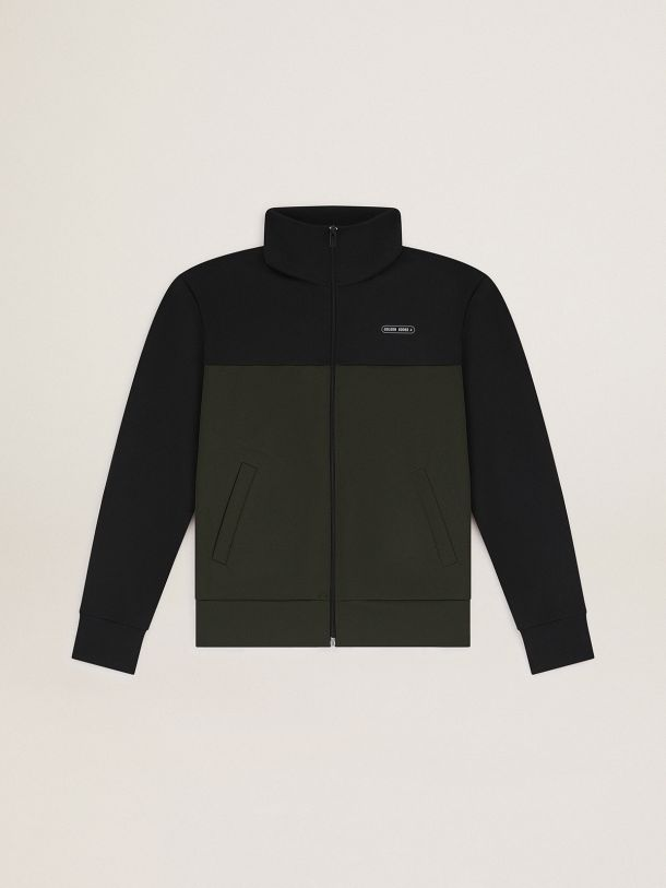 Golden Goose - Game EDT Capsule Collection jacket in black and military-green color in