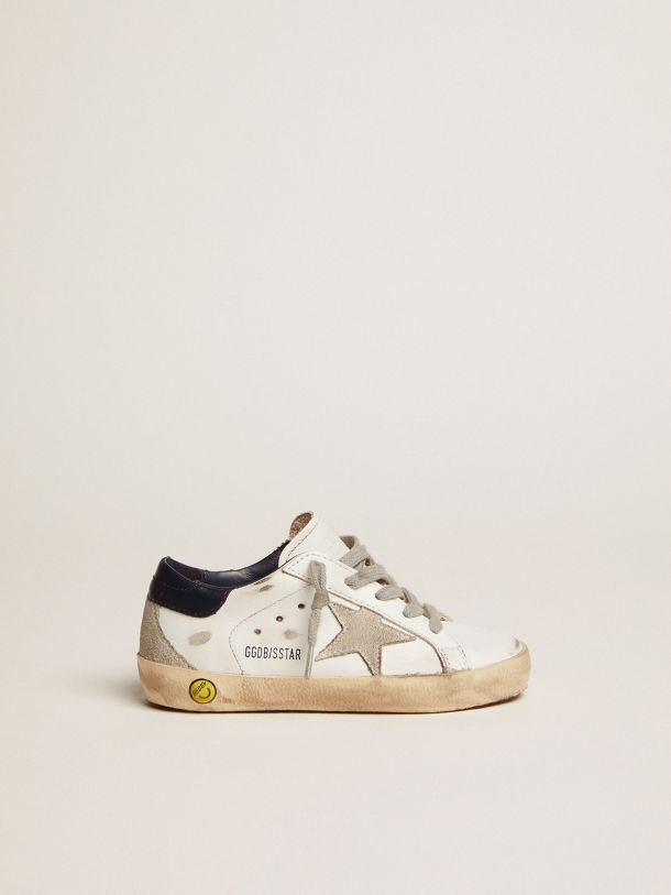 Golden Goose - Super-Star sneakers with suede star in