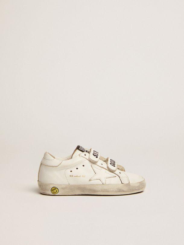 Golden Goose - Old School sneakers with velcro closure in