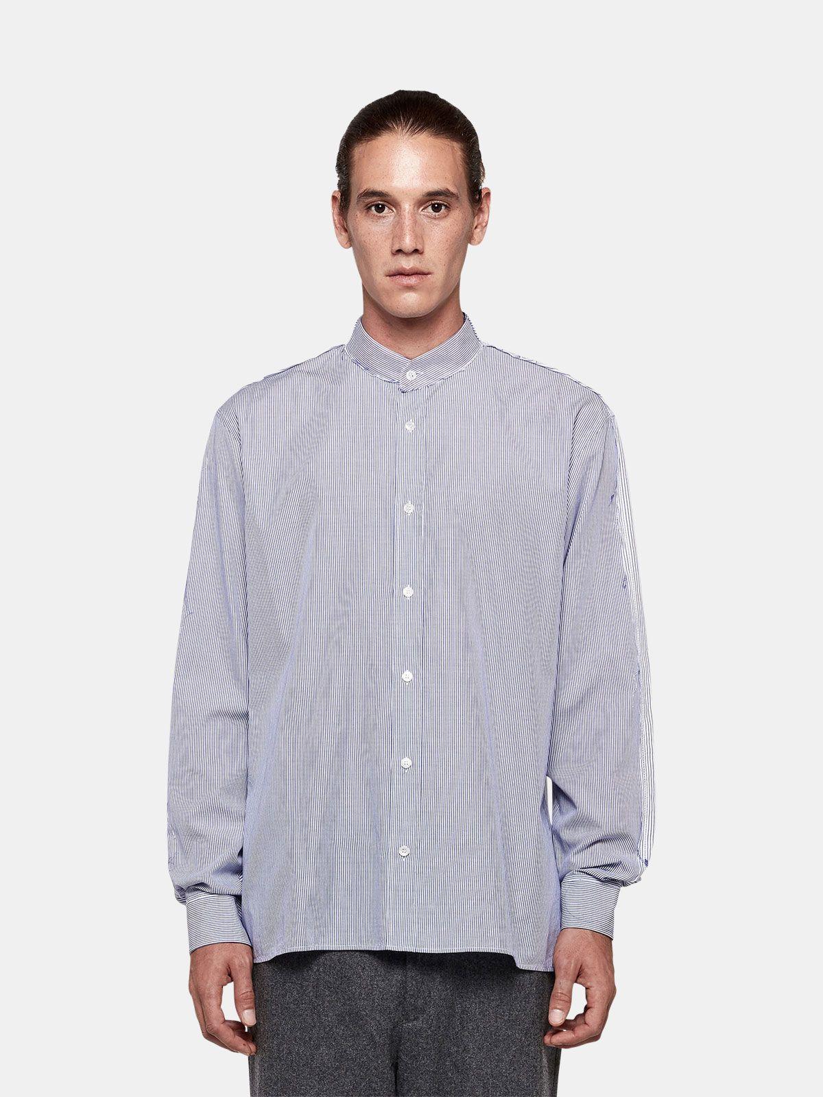 Golden Goose - Yuji shirt in cotton poplin  in