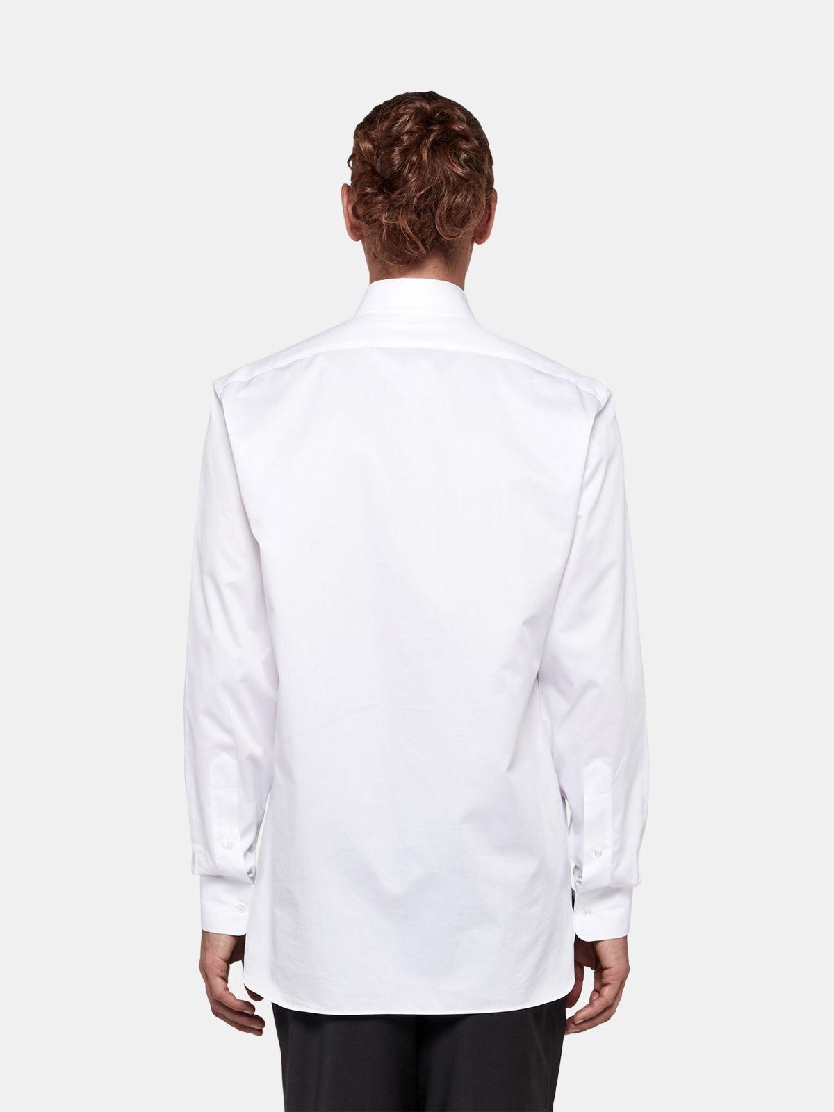 Golden Goose - Camicia Satoru in twill di cotone in