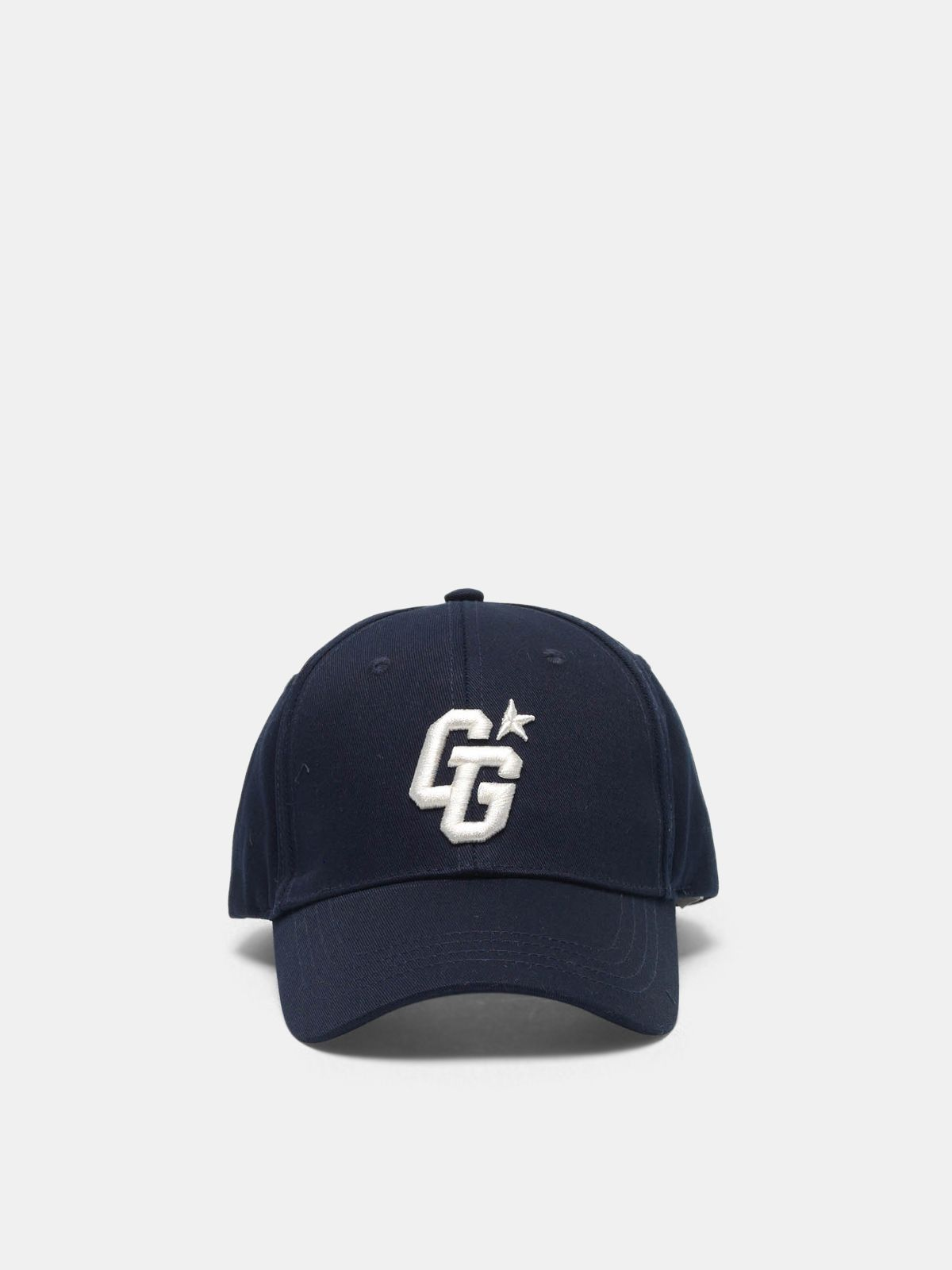 Golden Goose - Aki baseball cap with GG embroidery in