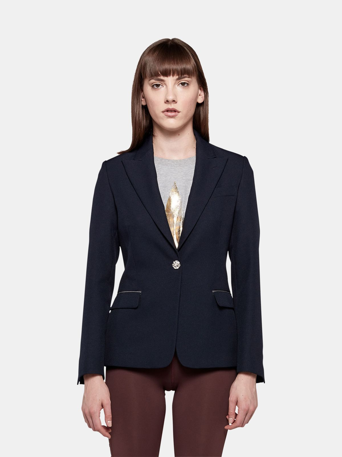 Golden Goose - Venice slim-fit single-breasted jacket in