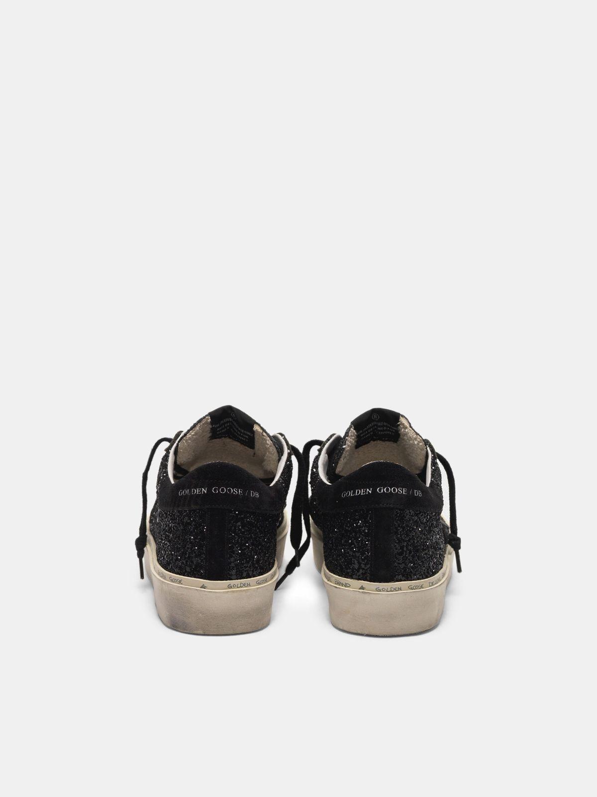 Golden Goose - Hi Star sneakers black glitter upper in