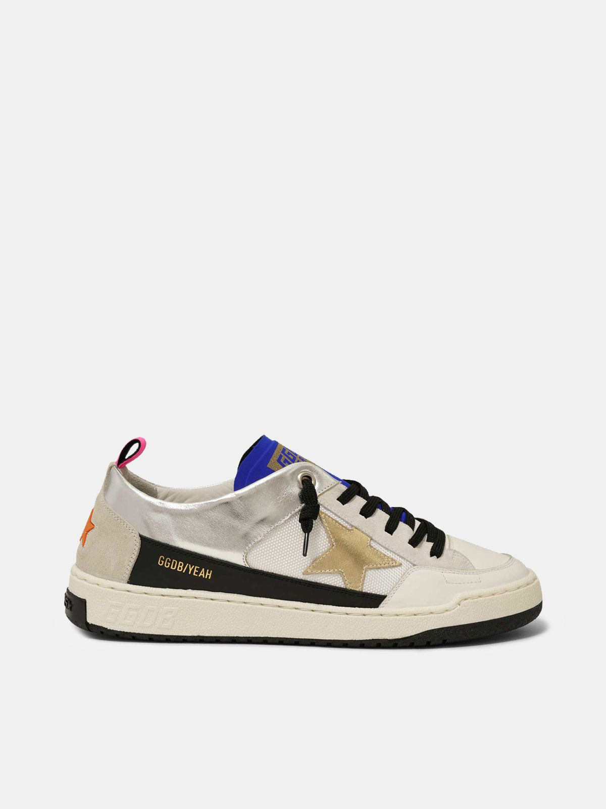 White Yeah! sneakers with gold star
