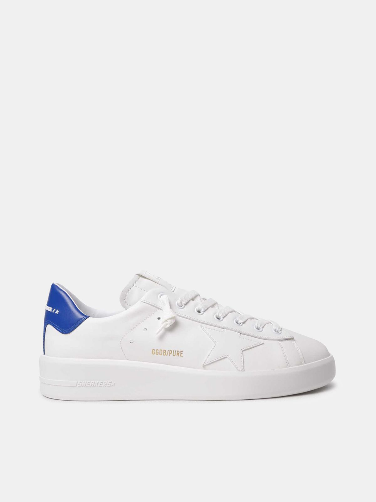 PURESTAR sneakers with blue heel tab