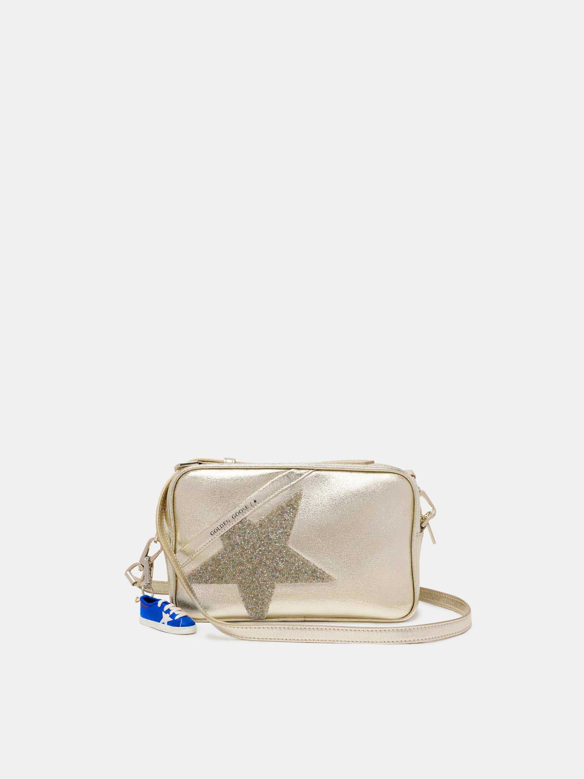 Sac Star Bag d'or avec cristaux