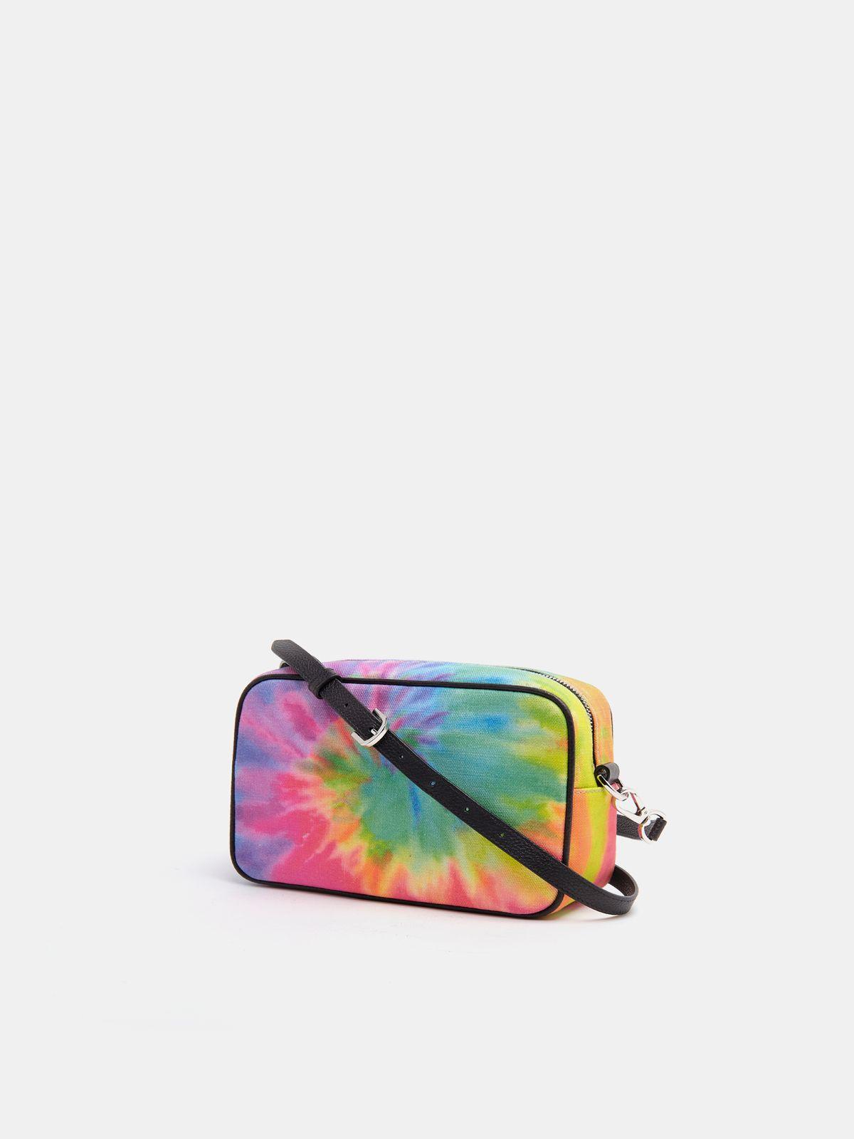 Golden Goose - Borsa Star Bag tie-dye stella con cristalli in