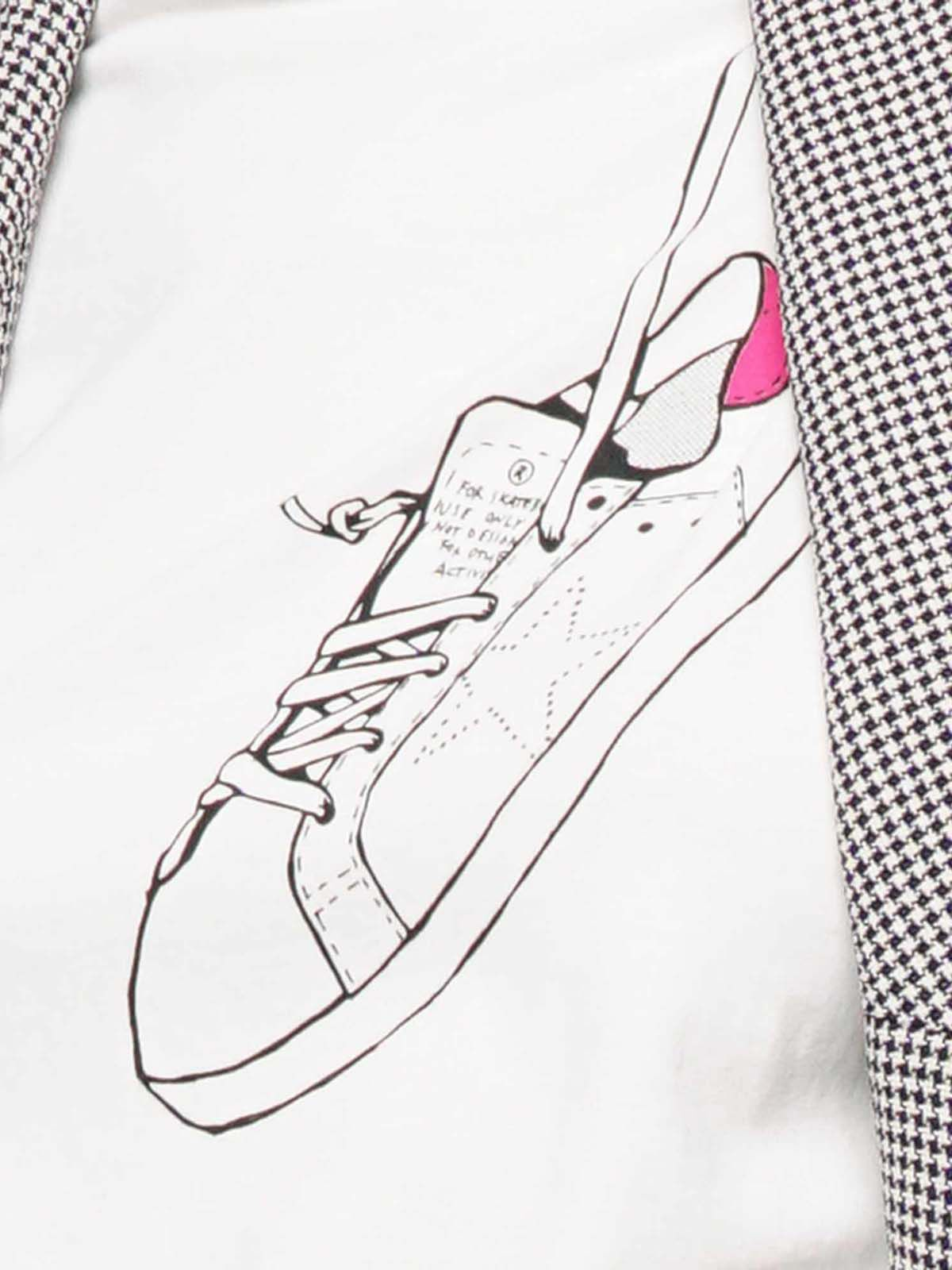 Golden Goose - Golden T-shirt with archive print   in
