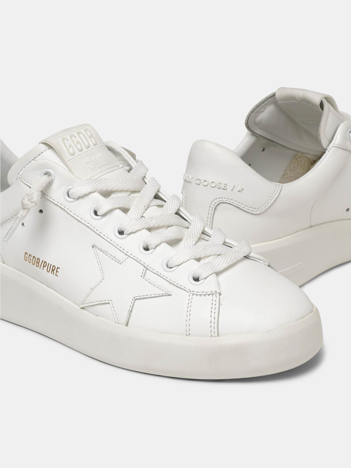 Golden Goose - PURESTAR white sneakers in