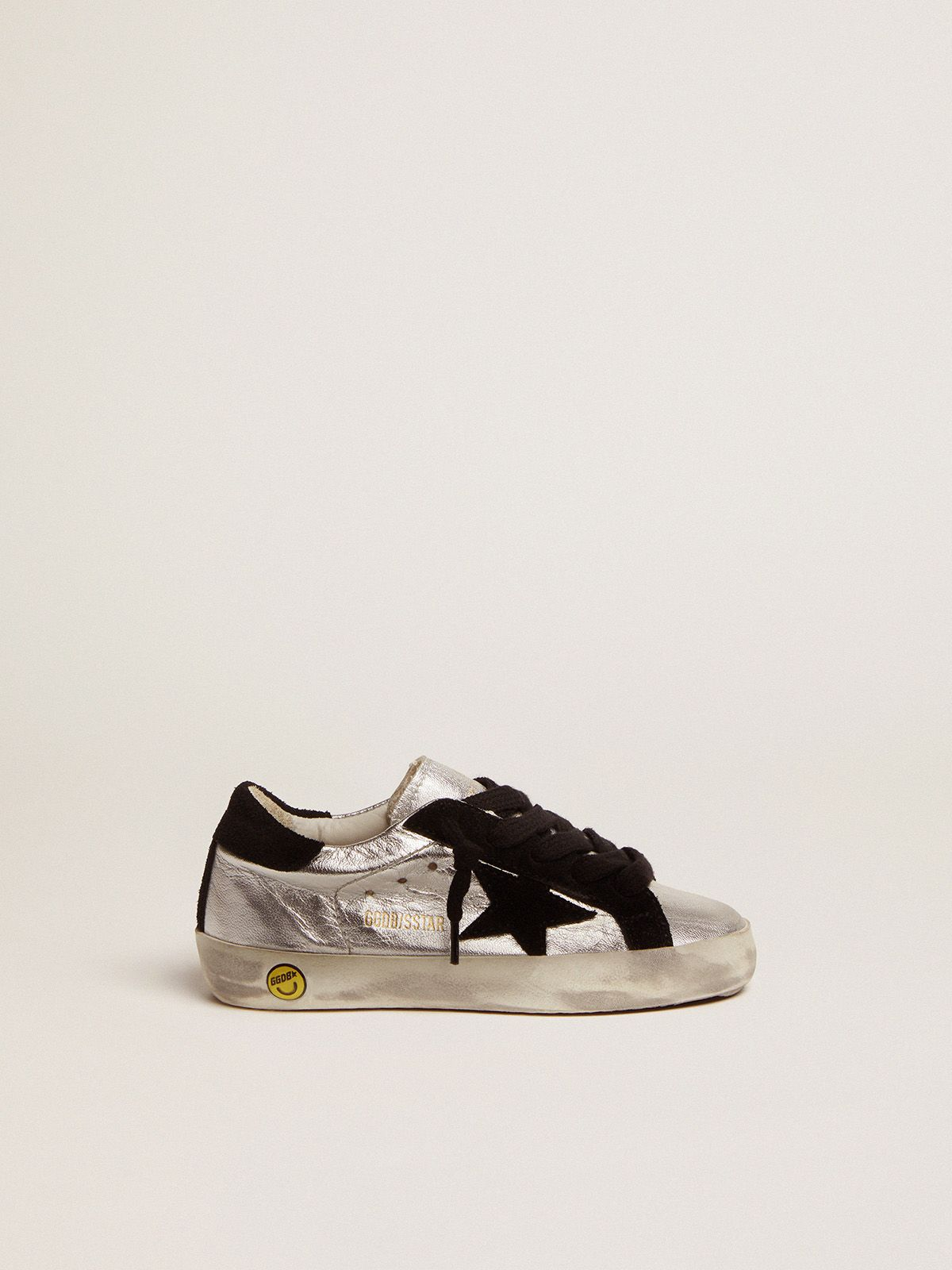 Golden Goose - Super-Star sneakers in laminated leather in