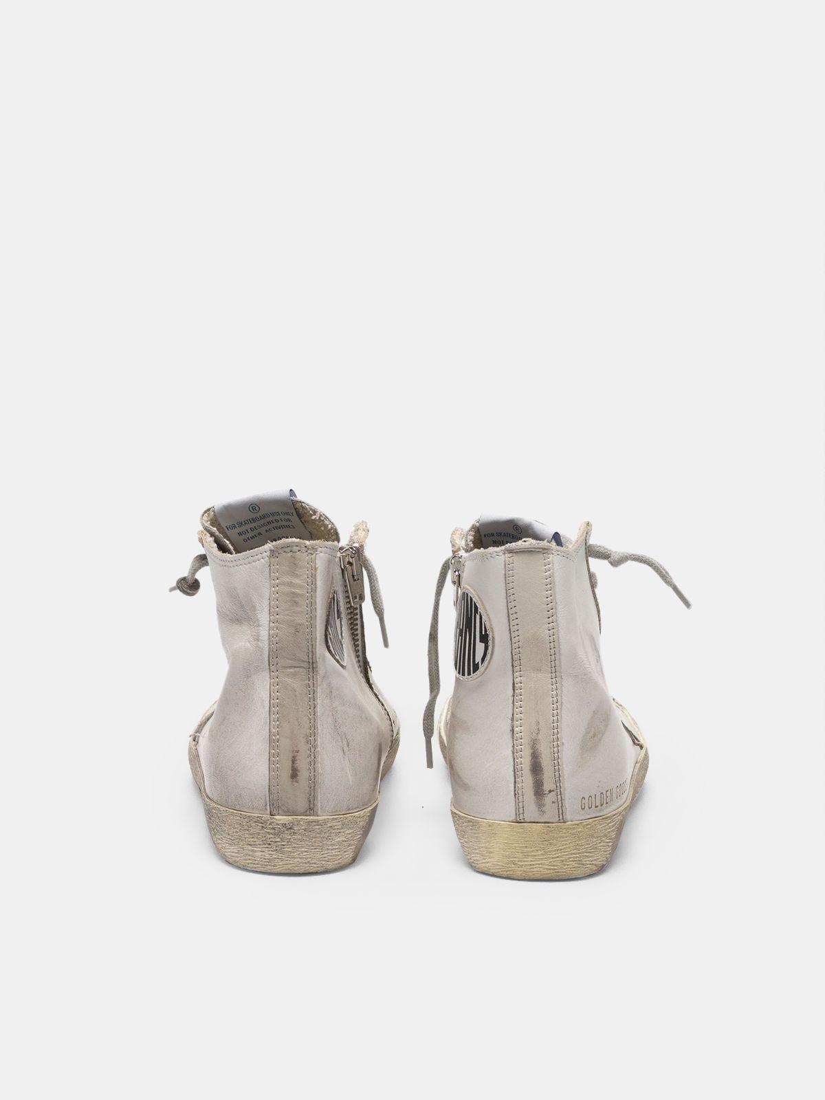 Golden Goose - Sneakers Francy in pelle con stella camoscio in