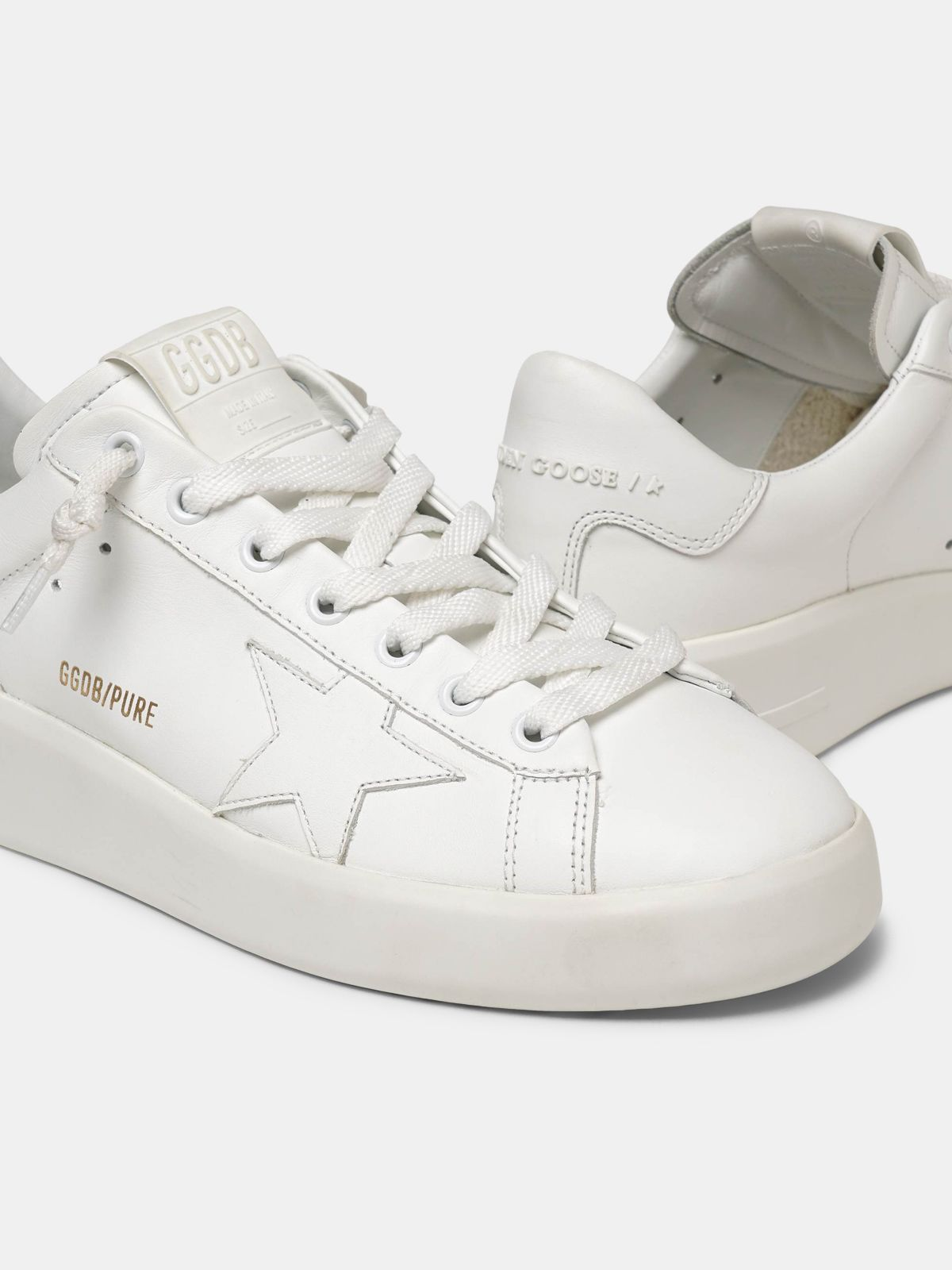 Golden Goose - Sneakers PURESTAR bianche in